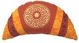 """""""Mandala-terrcotta-warm"""" Reisemond Yogakissen Luxus"""
