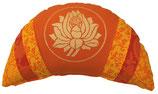 """Orange Lotus"" Reisemond Yogakissen Luxus"