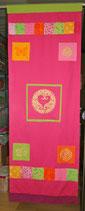 "Designer Wand-Behang ""Pink Kismet"""