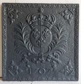 """ID 214  Bourbonenwappen - """"1707"""" - Fleurs de Lys - Wappen Louis XIV - Coat of Arms of Louis XIV - the SUN KING """"1707"""""""