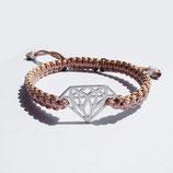 "Makramee-Armband ""Diamant"""