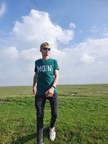 Moin T-Shirt für Damen und Herren - Bottlegreen (grün)