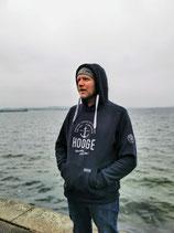 Herren Hooge Hoodie - Farbe Navyblau