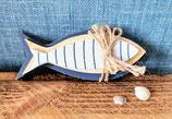 3 Fische aus Holz