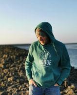 Herren Hooge Hoodie - Farbe Bottlegreen