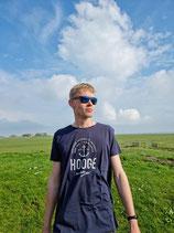 Hooge T-Shirt für Damen und Herren - Navy (dunkelblau)