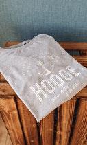 Hooge T-Shirt für Damen und Herren - Grey (Hellgrau)