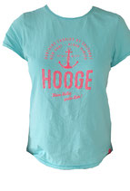 Hooge Damen T-Shirt - Aqua (Türkisblau)