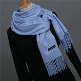 DeLuxe Schal in Sunny Blue