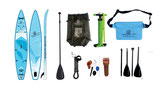 Race SUP light blue mit Rucksack 350,5*71*15 cm Komplettset