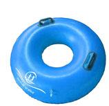 Schwimmring für Wasserparkrutsche, Schwimmbad und Badesee mit 2 Handgriffen