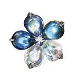 Baccarat Fleurs de Psydelic  Ring Riviera,  RG 53