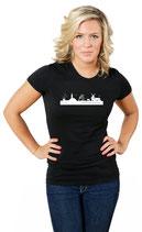 """T-Shirt """"Ostfriesische Skyline - Frooslü"""" - ZUR ZEIT NICHT LIEFERBAR"""