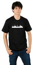 """T-Shirt """"Ostfriesische Skyline - Mannslü"""""""