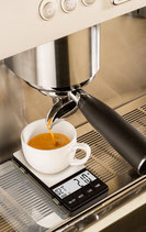 Espresso-Waage mit Timer