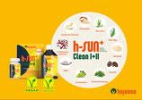 h-SUN clean I + II