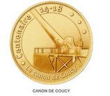Médaille Canon de Coucy