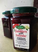 Sanddorn Holunder - Fruchtaufstrich