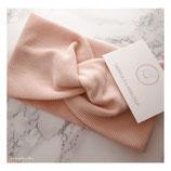 Headband knotted light pink