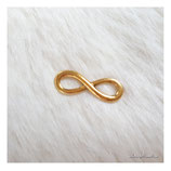 bracelet charm antique infinity big gold