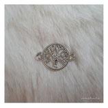 bracelet charm tree silver