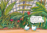"Postkarte ""Gans Hessen - Frankfurt Palmengarten"""