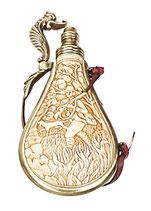 Mittelalter Pulverflasche für Pistole Steinschloß