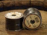 Sattlergarn aus Baumwolle, leicht gewachst, zum Handnähen, Stärke 0,7 - 0,9 mm  LED76010-76075