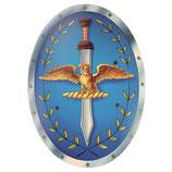 """Römerschild """"Aquila"""", blau"""