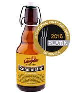 Megabock - Rohminator Craftbier 0,33l in der Bügel-Flasche