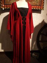 """Kleid """"Sylvia"""" rot-schwarz"""