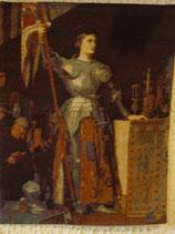 """Gobelin Wandteppich """"Johanna von Orleans"""" 70 x 40 cm"""