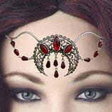 Tiara/Diadem mit Glas-Steinen
