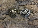 """Zierniete """"Keltische Spiral-Triskele"""" 20mm"""