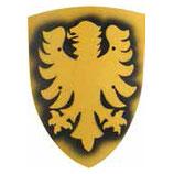 """Holz-Ritterschild """"Adler"""", groß, für Kinder"""