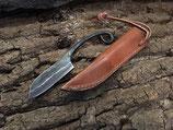 Kleines Mittelalter Messer mit Lederscheide H81533/BM00007