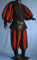 Set Hemd und Hose Landsknecht  2-farbig von Intermoden (IM2040)