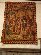 "Gobelin Wandteppich ""Ritterturnier"" 110x150 cm"