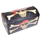 "Holztruhe Piratenbox ""Captain Jack"""