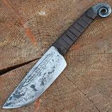 Altertümliches Messer mit Ringknauf