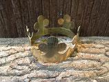 Herrscher-Krone aus massivem Messing (Rohling)