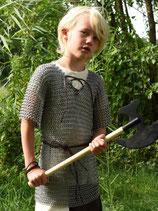 Kettenhemd für Kinder, verzinkter Stahl