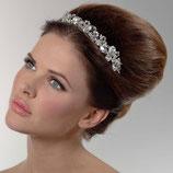 Luxuriöses Diadem/Tiara mit Swarowski-Steinen