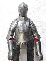 Deko-Ritterrüstung mit Ätzung inkl. Visierhelm