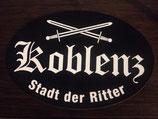 "Aufkleber ""Koblenz - Stadt der Ritter"""