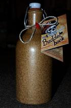 LIMITED EDITION: Tonflasche mit  Buddelbock  0,5l