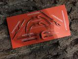 Nadelsatz zum Handnähen mit 6 Nadeln