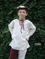 Mittelalter Hemd / Tunika Kind L2040