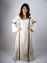 Kleid mit Borte L4016 für Mittelalter und Larp
