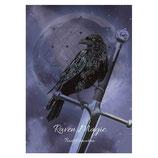 "Anne Stokes Karte ""Raven Magic Transformation"""